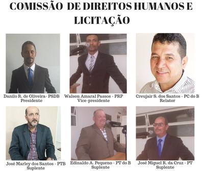 Comissão Permanente de Direitos Humanos e Licitação