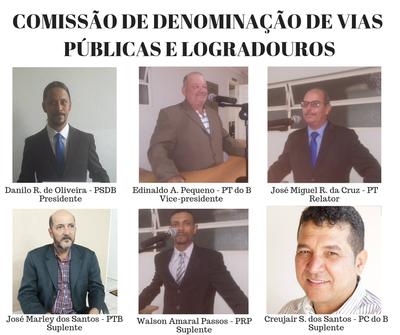 Comissão de Denominação de Vias Públicas e Logradouros