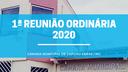 1ª Reunião Ordinária da Câmara Municipal 2020