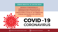Medidas preventivas à disseminação e contágio do CORONAVÍRUS COVID-19.