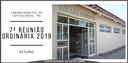 Pontos Altos da sétima Reunião Ordinária da Câmara Municipal - 2019